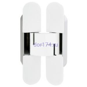 Петля ECLIPSE 3.0 (E30200.02.91 (белый) AGB (АГБ) ) (4 накладки в комплекте)