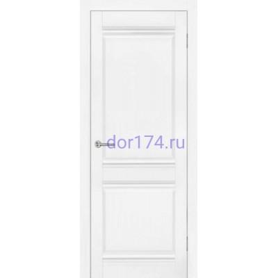 Межкомнатная дверь Омега, Белый  (FORET-LIGHT, экошпон - лайт)