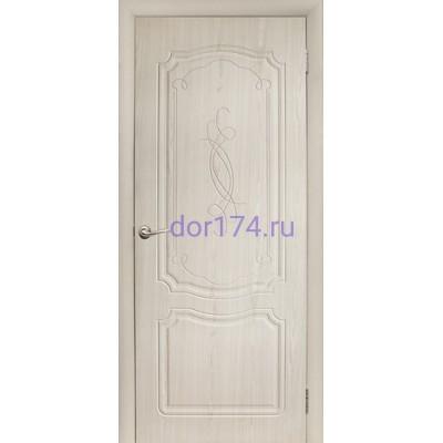 Межкомнатная дверь Фоман, Беленый дуб (FORET, ПВХ)