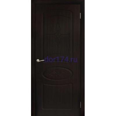Межкомнатная дверь Сантана, Венге (FORET, ПВХ)