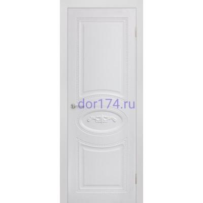 Межкомнатная дверь Валенсия, Жемчуг (FORET, ПВХ)