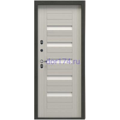 Дверь TERMAX TT2 G-301 Царга Лиственница белая