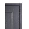 Дверь входная металлическая S100 Империя Роял вуд графит, Роял вуд белый